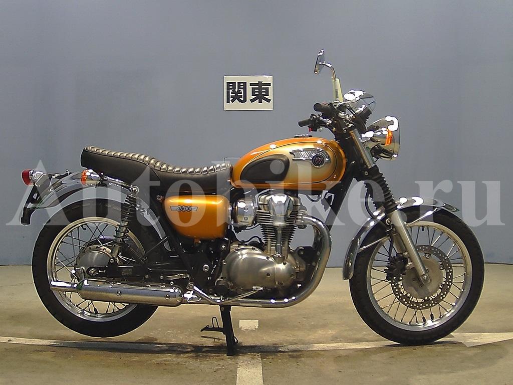 мотоцикл Kawasaki W800 мотоциклы